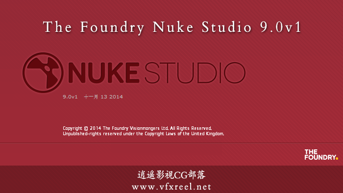 The Foundry Nuke Studio 9.0 v1 破解版(Win/Mac/Linux)