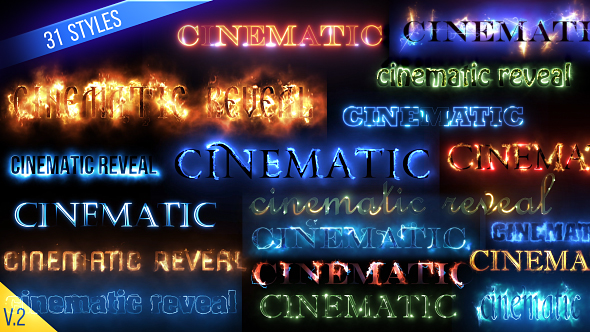 Preview-Image-13 AE模板:火焰燃烧闪电光效电影文字标题logo展示 Cinematic Text Styles Pack