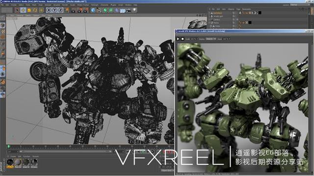 C4D插件:阿诺德 Arnold渲染器 SolidAngle C4DtoA 1.3.0 For C4D R16-R18 Win&Mac