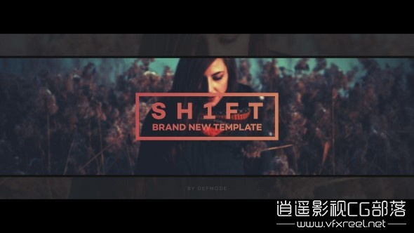 Shift-Opener AE模板:公司企业城市旅游宣传促销复古图片文字展示 Shift Opener