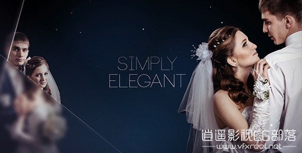 Simply-Elegant-Slideshow AE模板:简洁优雅婚礼相册幻灯片动画展示 Simply Elegant Slideshow