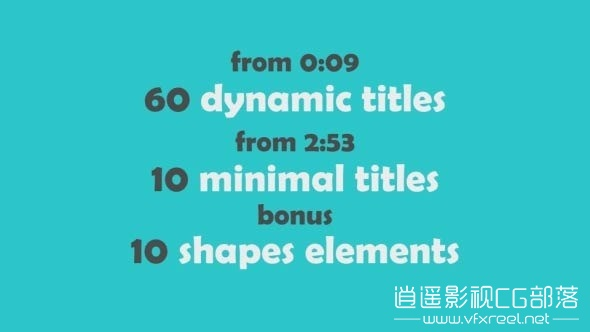 70-Text-Animations-Pack AE模板:70组时尚动感文字排版促销动画 70 Text Animations Pack