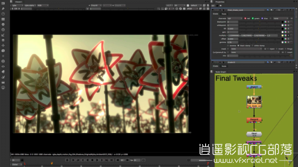 NUKE-nodaltoolset The Foundry NUKE Studio 11.1v1 Win 一键破解补丁 影视特效合成软件