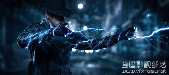 Electricity-Lightning-Effect-in-Photoshop PS教程:电力闪电特效制作教程 Electricity Lightning Effect in Photoshop