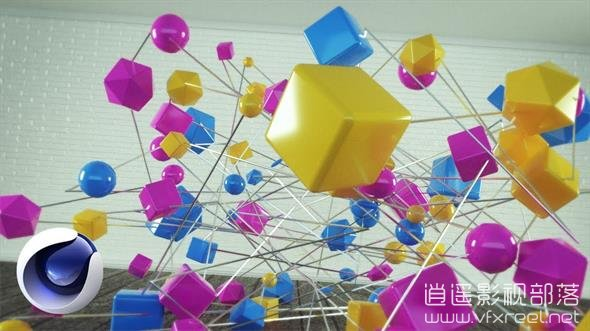 Spectacular-top-chart-in-Cinema-4D C4D教程:多边形线条汇聚数字变形动画教程 Spectacular top chart in C4D