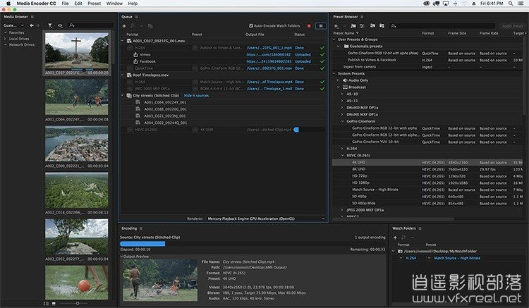 Adobe-Media-Encoder-CC-2019_02 Adobe Media Encoder CC 2019 v13.0.2.39 Win/Mac 中英文多语言破解版