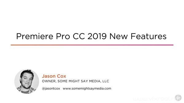 Pluralsight-Premiere-Pro-CC-2019-New-Features PR教程:PR CC 2019新功能教学 Pluralsight Premiere Pro CC 2019 New Features
