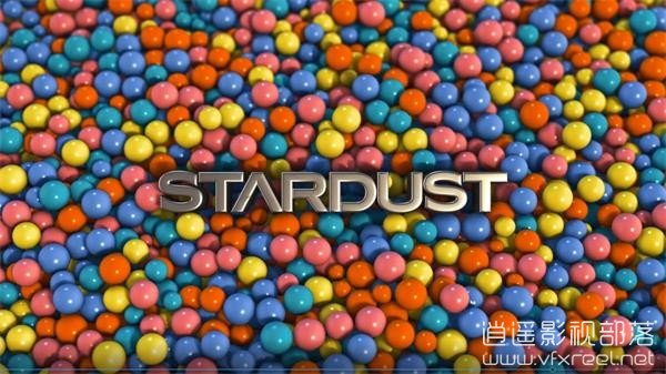 Stardust-Physics-3D-Title-Reveal-After-Effects-Tutorial AE教程:Stardust插件模拟物理粒子动力学教程 Stardust Physics 3D Title Reveal