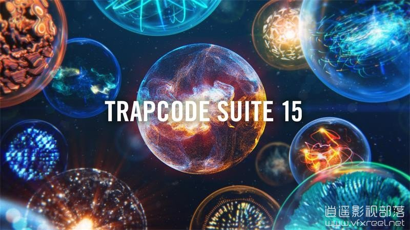 Trapcode-Suite-15 AE插件:红巨星特效插件套装 Red Giant Trapcode Suite v15.0.1(Win/Mac)