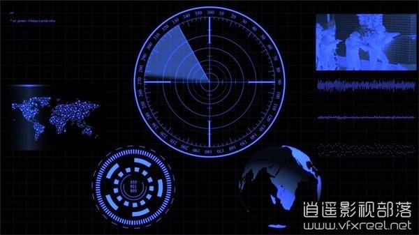 After-Effects-CC-Futuristic-Interface-01 AE教程:未来高科技HUD动态信息图表界面动画制作 Futuristic Interface HUD