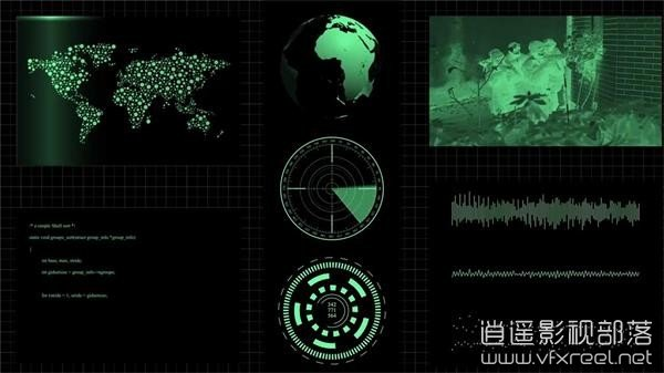 After-Effects-CC-Futuristic-Interface-02 AE教程:未来高科技HUD动态信息图表界面动画制作 Futuristic Interface HUD