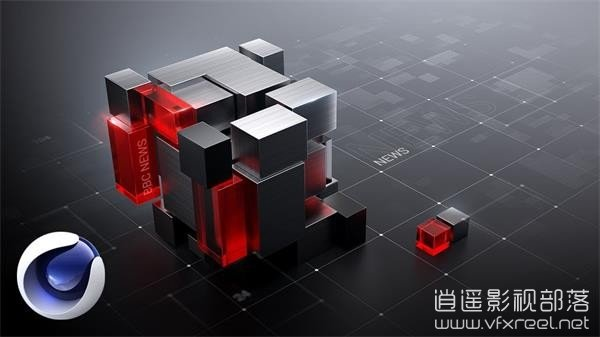 Creating-grids-and-working-with-cinema-in-Cinema-4D C4D教程:C4D制作栏目包装常用网格效果教程 Creating Grids in Cinema 4D
