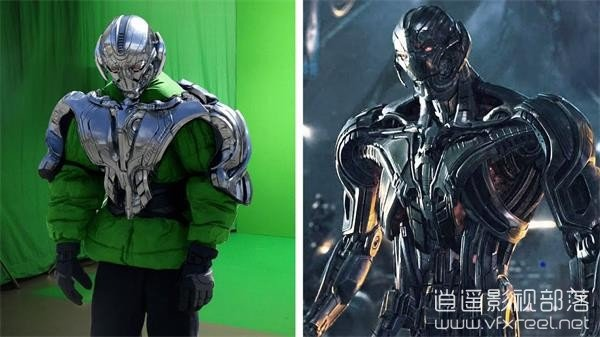 Amazing-Before-After-Avengers-Age-of-Ultron 视觉盛宴:好莱坞电影特效分解 - 复仇者联盟:奥创纪元 Amazing Before & After VFX:Avengers - Age of Ultron