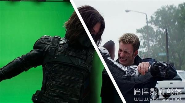 Amazing-Before-After-Captain-America-The-Winter-Soldier 视觉盛宴:好莱坞电影特效分解 - 美国队长2:寒冬战士 Amazing Before & After- Captain America - The Winter Soldier