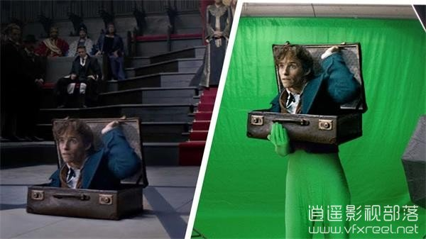 Amazing-Before-After-Fantastic-Beasts-and-Where-to-Find-Them 视觉盛宴:好莱坞电影特效分解 - 神奇动物在哪里 Amazing Before & After : Fantastic Beasts and Where to Find Them