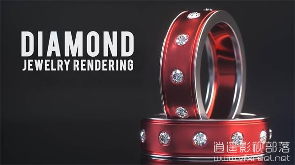 Product-Rendering-Live-Jewelry-Octane-Render-and-Cinema-4D C4D教程:珠宝钻石建模材质渲染合成案例教程 Jewelry Octane Render