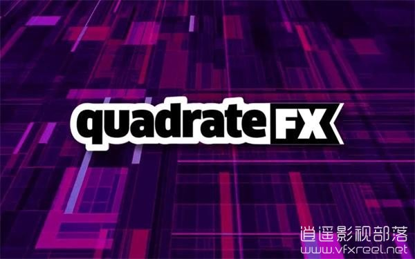 quadrateFX AE脚本:矢量矩形图案随机生成脚本 Aescaripts quadrateFX v1.05 Win/Mac