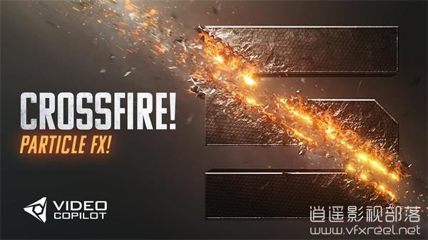 Crossfire-Particle-FX-Tutorial-100-After-Effects-LIVE-Tour AE教程:AK169期 刀剑枪战交火撕裂划痕标志logo动画特效 Crossfire Particle FX