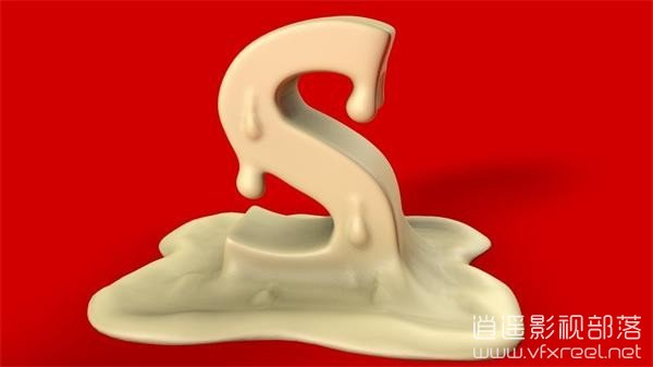 Cinema-4D-R17-Tutorial-Sculpt-Text C4D雕刻3D文字材质效果教程 Cinema 4D R17 Tutorial Sculpt Text