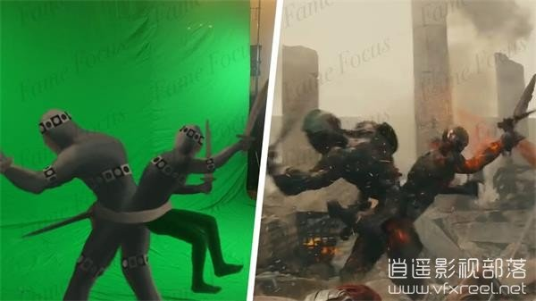 Amazing-Before-After-Hollywood-VFX-Wrath-of-the-Titans 好莱坞电影特效分解 – 诸神之怒 Amazing Before & After Hollywood VFX- Wrath of the Titans