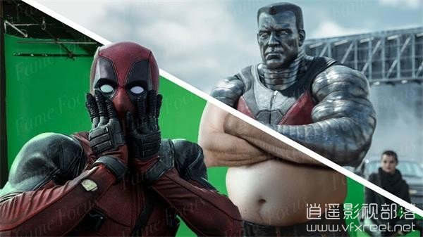 Amazing-Before-After-Hollywood-VFX-Deadpool 好莱坞电影特效分解 - 死侍 Amazing Before & After Hollywood VFX: Deadpool