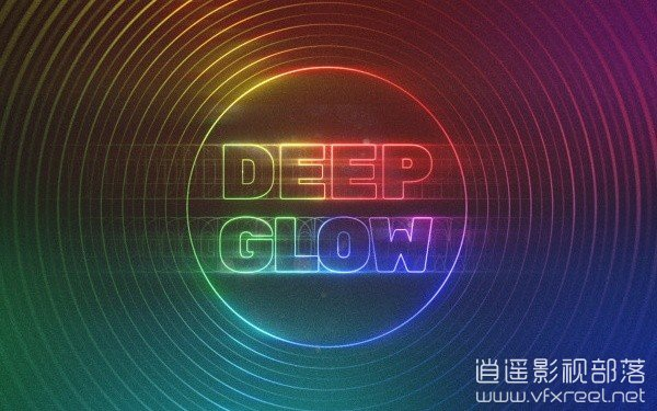 AE模拟真实发光辉光插件 AEScripts Deep Glow v1.4.1 for After Effects Win/Mac