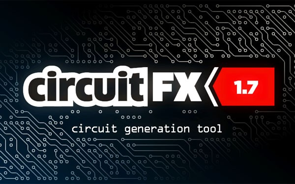 Aescripts CircuitFX v1.70 for After Effects Win/Mac 高科技电路板芯片电流动画特效制作AE脚本