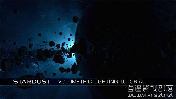 AE粒子插件Stardust体积照明特效教程 Stardust Volumetric Lighting Tutorial